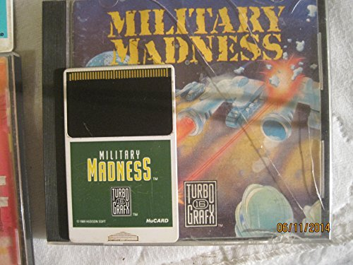Military Madness TurboGrafx 16 Video Game