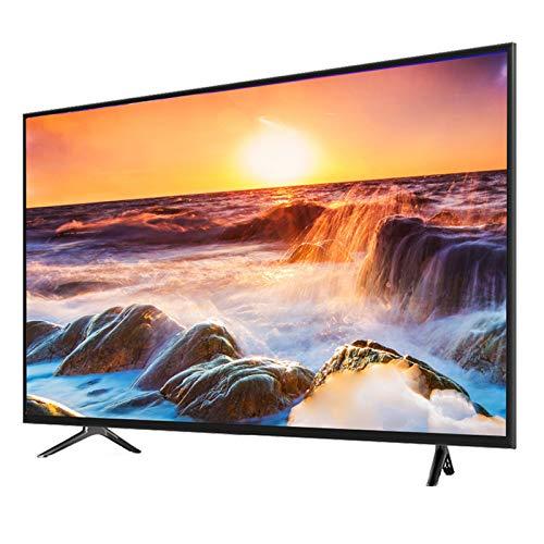 YILANJUN HD LED LCD 4K TV - 32/42/50/55/60-Pollici Wi-Fi Smart TVs [Ricche Interfacce e Risorse + Configurazione Alta] (Proiezione Wireless + Controllo Vocale)