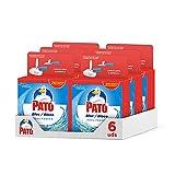 Pato - Bloc Azul Fresco recambio limpiador y ambientador para inodoro [Pack de 6 X 2 recambios, total 12 recambios]
