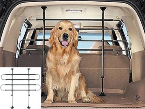 Dog Guard 2 bar FULLY ADJUSTABLE car pet barrier Safety guard BARRIER MESH