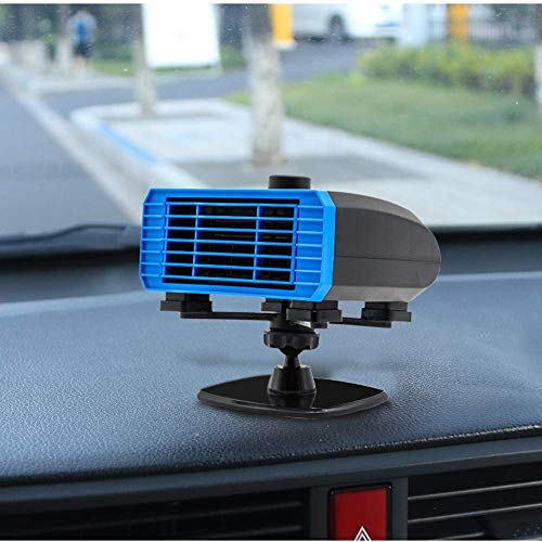 12v car Heater UK Automobile Windscreen Fan 24V Car Small Appliances Fast Heating Defrost Defogger Best Winter Gift with 120cm Cigarette Lighter Line Portable