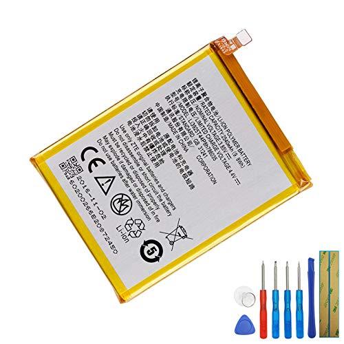 Batería de repuesto Li3927T44P8h786035 compatible con ZTE Blade V8 BV0800 con herramientas