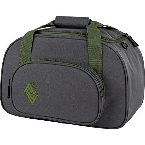 Nitro Snowboards Duffle Bag XS, Bolsa de Deporte 35 litros, 40 cm, Pirate Black