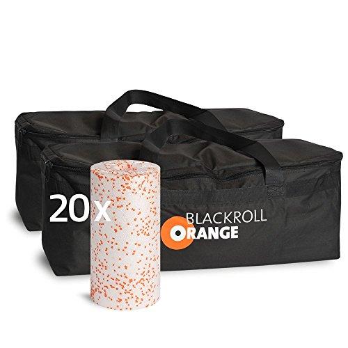 blackroll-orange Trainer BAG Duopack inkl. 20 Faszienrollen MED