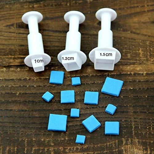 Moules Silicone Pâtisserie 1 Set Pentagram Star Seal Cuisine Accessoires Mini Star Pistonbiscuit Cookie Gâteau Moulegâteau Décoration Outils, M206