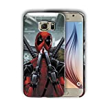 Hard Case Cover with Deadpool Design Compatible with Samsung Galaxy Note 9 (dead2)