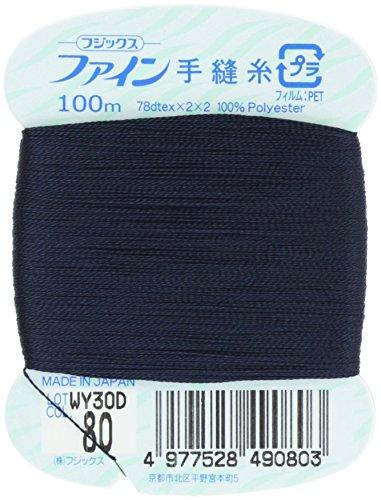 フジックス ファイン 【手縫い糸】 #40 100m col.80