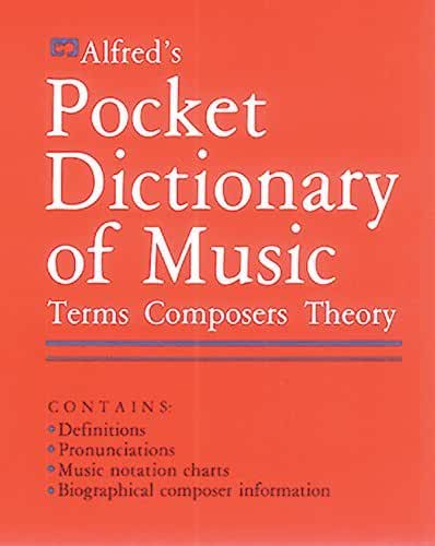 Alfred's Pocket Dictionary of Music (English Edition)