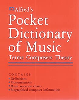 Amazon Com Alfred S Pocket Dictionary Of Music Ebook Feldstein