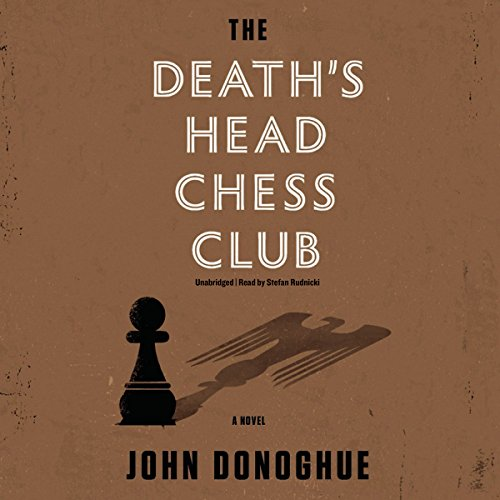 The Death's Head Chess Club audiobook cover art