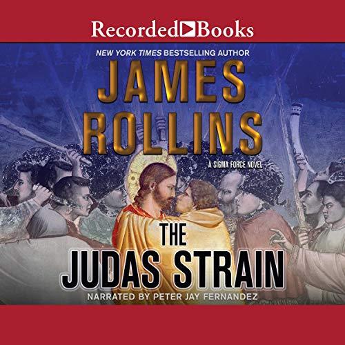 The Judas Strain audiobook cover art
