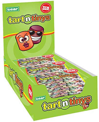 Classic Tart n' Tinys Candy - 24 COUNT 1.5oz Packs - Fresh Tart and Tiny Candy!