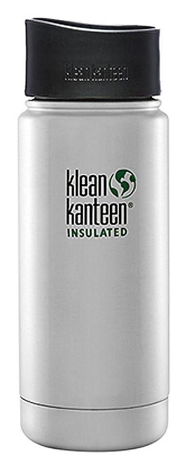 恥ずかしいサラミ被害者Klean Kanteen(クリーンカンティーン) ワイドインスレート ボトルカフェキャップ2.0 16oz