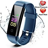 ANCwear Fitness Trackers- Activity Tracker <span class='highlight'><span class='highlight'>Watch</span></span> with Heart Rate Blood Pressure Monitor, <span class='highlight'>Waterproof</span> <span class='highlight'><span class='highlight'>Watch</span></span> with Sleep Monitor, Calorie Step Counter <span class='highlight'><span class='highlight'>Watch</span></span> Compatible Android iPhone <span class='highlight'>Smart</span>phone