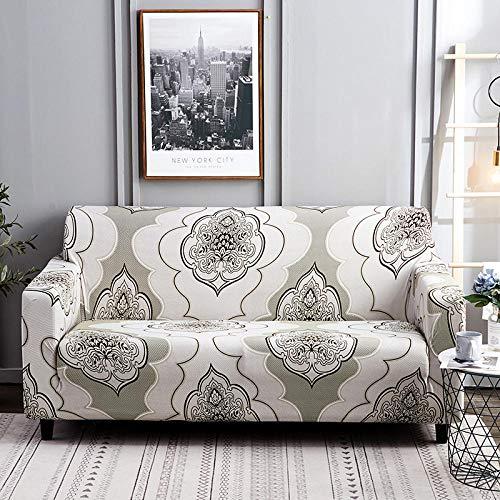 Fundas Sofa Elasticas,Fundas de sofá elásticas para Sala de Estar, Funda elástica para Silla de sofá, Toalla de sofá, 3 plazas, 190-230 cm (1 Pieza)