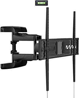 Loctek TV Wall Mount Bracket Articulating Swivel Tilt LCD LED Super Low Profile 47 50 52 55 75 79 80 84 85 90 fits for Most of Samsung/Coby/LG/VIZIO/Sharp/Sony/Toshiba/Seiki tv++