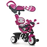 Smoby Baby Driver Confort - Triciclo, Color Rosa (740600)