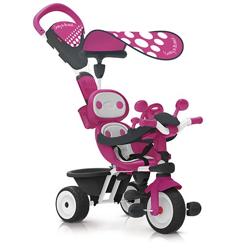 Smoby 740600 - Baby Driver Komfort, rosa