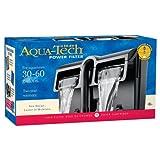 Aquatech Puissance Filtre d'aquarium W/en 3Étapes de Filtration, 30 to 60-Gallon,...