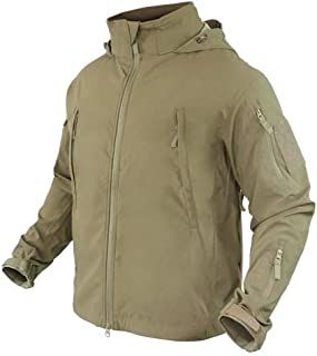 Condor Summit Zero Men's Lightweight Soft Shell Jacket, Tan, XXL 609-003-XXL