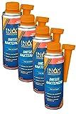 INOX® Diesel Bakterizid, 4 x 250ml - Desinfección de aditivos para Sistemas de gasóleo, automóviles y gasóleo de calefacción
