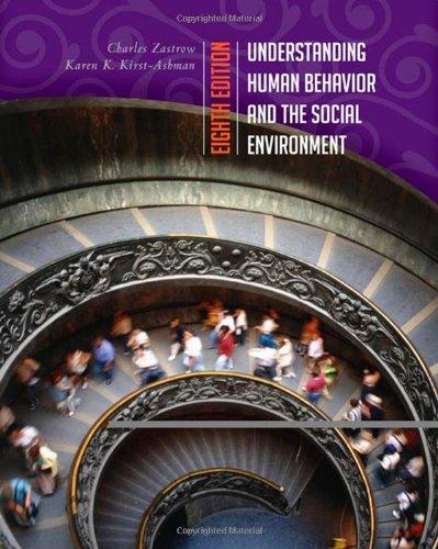 Understanding Human Behavior and the Social Environment...