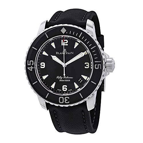 Blancpain Fifty Fathoms Automatique Black Dial Men's Watch 5015-1130-52A