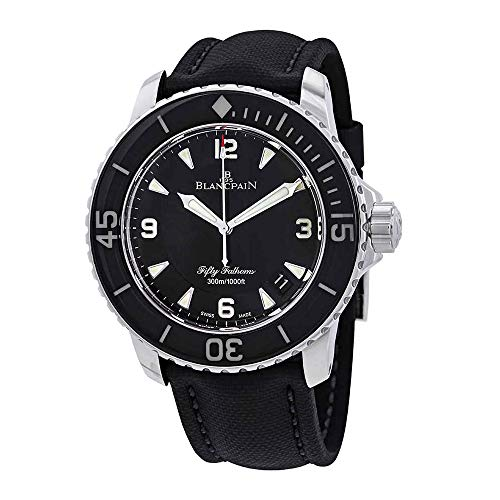 Blancpain Fifty Fathoms Automatique Black Dial Men's Watch 5015-1130-52A