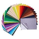 BENECREAT 40 Pack Farbe sortiert selbstklebend Filz Fabri