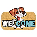 Forma de animales de dibujos animados Mat de la puerta de la puerta de la puerta de la puerta de la puerta de la alfombra de la alfombra de la alfombra de la puerta de la casa de la alfombrilla de la