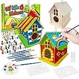 DIY Vogelhaus Bausatz für Kinder, Spielzeug Geschenke für Alter 3 4 5 6...