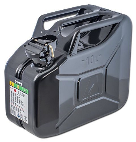 Arnold, Tanica per carburante in metallo, 10 L, nero, 6011-X1-2001