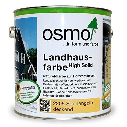 OSMO Landhausfarbe sonnengelb 2.500 ml