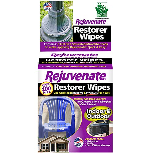 Rejuvenate Pre-Saturated Restorer Wipes Penetrating Formula Restores Shines and Protects