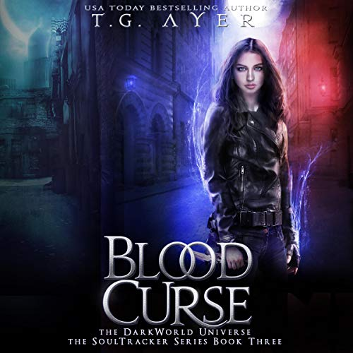 Blood Curse audiobook cover art