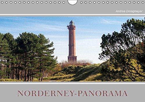 Norderney-Panorama (Wandkalender 2019 DIN A4 quer): Zwölf zauberhafte Aufnahmen von der Insel Norderney (Monatskalender, 14 Seiten ) (CALVENDO Orte)