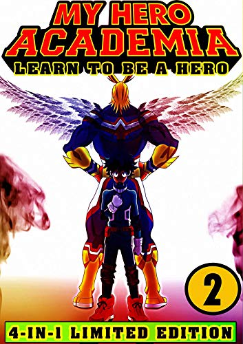 My Hero Academia Learn: Book 2 Collection - Shonen Manga Action My Hero Academia Fantasy Adventures (English Edition)