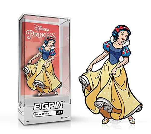 FiGPiN - Disney Princesses: Snow White - Collectible Pin with Premium Display Case