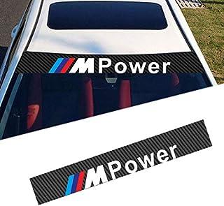 10 Pezzi Adesivi Sticker Compatibili Per BMW Effetto 3D M3 M5 M6 E46 E36 E60 11X19mm