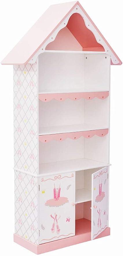 Muebles Estantería Infantil de Color Rosa Estantería ...