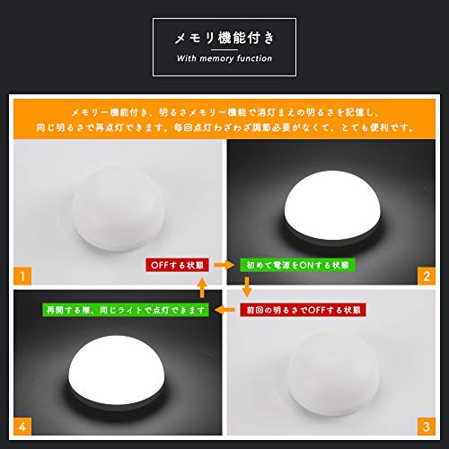 共同照明ナイトライトベッドサイドランプ調光調色可常夜灯タッチ式GT-XY-04USB充電式授乳ライト卓上ライトルームライト間接照明丸型メモリ機能付き防災対策停電対策