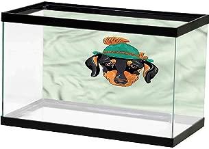 SLLART Underwater World Backdrop Cute,Tabby Kittens in The Basket Background Sticker