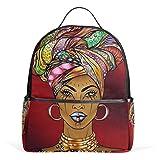 Mochila escolar americana africana para niña 2011825