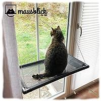 riijk Hamaca para Gatos, para Mirar el Exterior a través de la Ventana. Práctica Cama para Gatos para el alféizar de la Ventana