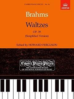 Waltzes, Op. 39 (Simplified Version): Easier Piano Pieces 36