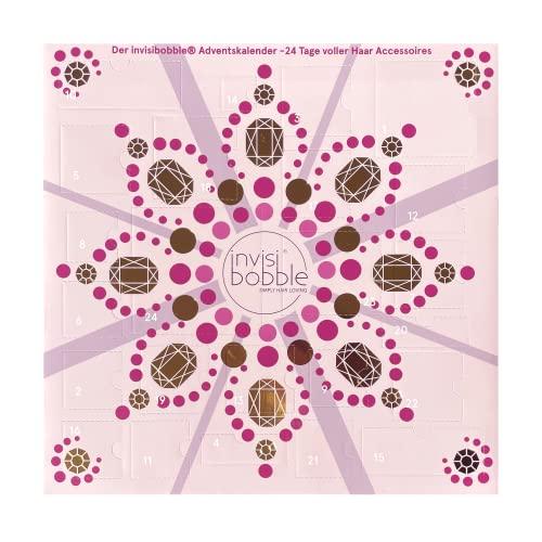 invisibobble Calendario dell'Avvento 2021 beauty I Calendario dell'Avvento con elastici e...