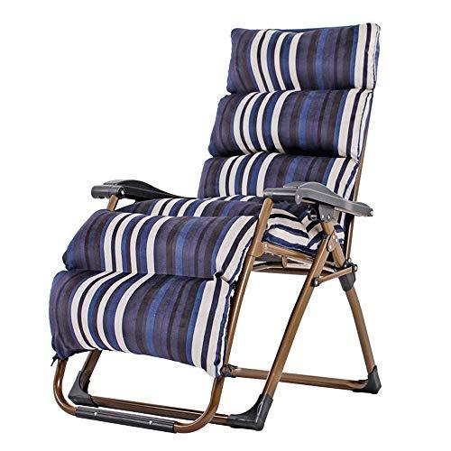 BCX Silla reclinable plegable para el almuerzo Silla de verano Confort Silla de ducha Ajustable Silla para ancianas embarazadas Silla para escapadas de playa al aire libre,I