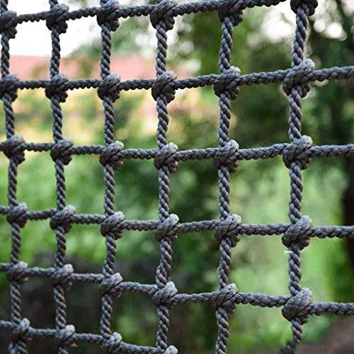 NSYNSY Trädgårdsnät nylon utomhusklättringsnät balkong nät balkong okrossbart nät, utomhus säkerhetsnät barn klättring skyddsnät (färg: Nät8 cm, storlek: 2 x 2 m)