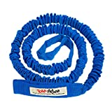 TowWhee - The Original Bike & Ski Bungee Tow Rope Especially for Cold Weather | Fat Bike, MTB, Snow Bike Stretch Pull Strap for Riding Further with Your Friends & Family | Works with Any Bicycle