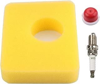 799579 Air Filter with Primer Bulb Spark Plug for Briggs & Stratton 5434 4248 09P602 Engine Yard Machines Bolens Lawn Mower